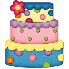 Birthday cake graphic birthday and cake clip art on card making Birthday Cake Clip Art, Birthday Clips, Birthday Board, Cake Clipart, Diy And Crafts, Crafts For Kids, Cake Drawing, Clip Art Pictures, Silhouette Online Store