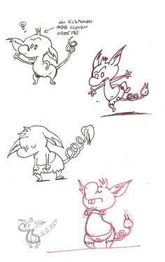 Islamundo, diseño de personajes: Ró