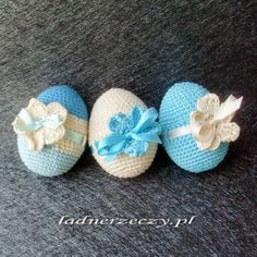crocheted eggs / szydełkowe jaja