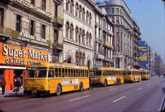 The Trolley Buses in Athens Greece in 1979 Old Greek, Athens Greece, Best Memories, Greek Islands, Public Transport, Old Photos, Past, Nostalgia, History