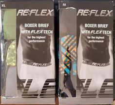 RE:FLEX Mens Boxer Brief 3PACK With flex tech Highest Performance pick your size  https://bayfeeds.com/ebayitem?site=0&i=282730285867&u=858&f=488