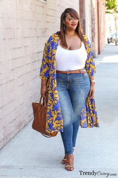 Curvy Girls it is time for me to be completely honest — no you can't wear everything. There I said it. Some things just are NOT made for OUR bodies. However there are things that were designed for every dip and pop you've got! Here are some ladies that are getting it so right and some cues you...