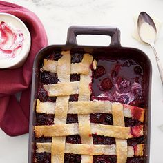 From Southern Living Magazine. I tried this and it was so good. Takes a while to make but if you're in the mood to bake something, this is it!