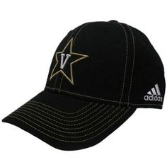 NCAA Vanderbilt Commodores Flex Fit Small Medium Sm Md Adidas Black Gold Hat Cap by adidas. Save 40 Off!. $14.99. FlexFit Small - Medium. Official Licensed Product. Flex Fit. Brand New Item with Tags. 84% Nylon 14% Cotton 2% Polyurethan. Show off your team spirit with this durable flex fit cap. Team logo embroidered on front panel. Adidas logo embroidered on left side panel. Team logo embroidered on back panel in gold. Flex fit, fits sizes Small to Medium. Constructed fit. Authen...