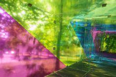 CMY pavilion | shift architecture urbanism; Photo: René de Wit | Archinect