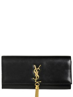 Must have..... <3 CASSANDRE TASSEL LEATHER CLUTCH