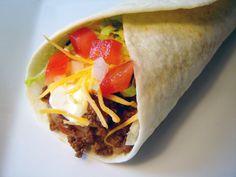 Taco Bell Burrito Supreme Copycat Recipe
