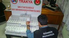 Devriye Haber : Kırklareli Dereköy'de 8 Bin 680 Adet Cinsel Uyarıc...