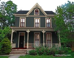 painted victorian stucco