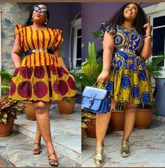 Fascinating Ankara Styles for All Weather and All Occasions Latest Ankara Short Gown, Ankara Short Gown Styles, Latest Ankara Styles, Short Gowns, African Fashion, African Style, Fashion Pictures, Skirt Fashion, Stylish
