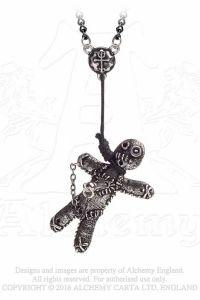 Alchemy Gothic - Halskette mit Anhänger - Voodoo Doll