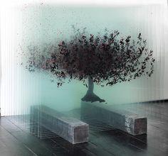 Tree art installation by Ardan Özmenoğlu