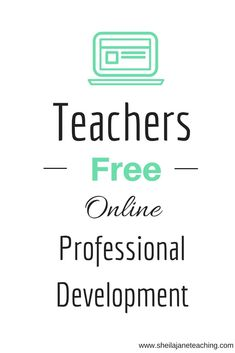 I'm a teacher and LOVE this website.  All the free videos, podcasts, and TONS of tips and resources.  I can have Professional Development for NO COST from the comfort of my couch or classroom.