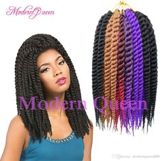 12 Inch Havana Mambo Twist Crochet Braids Hair Extensions 65g/Pack Senegalese Twist Crochet Synthetic Braiding Hair Ombre 12roots Thick Neat Milky Way Human Hair Milky Way Weave From Modernqueen888, $5.26| Dhgate.Com Crochet Braids Hairstyles, Girl Hairstyles, Braided Hairstyles, Havana Mambo Twist Crochet, Braid In Hair Extensions, Synthetic Hair, Ombre Hair, Weave, Hair Styles