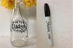 DIY: lorax inspired UNLESS vase