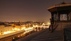 ...I will watch night fall from a Paris rooftop.