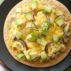 New York Breakfast Pizza