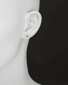 Tiffany & Co. Diamond Platinum Open Heart Earstuds image 2