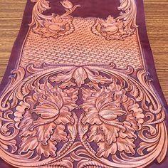 #leathergoods #leathertooling #leathercraft #leathercarving #leatherworks #レザークラフト教室 #レザーカービング