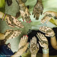 The mehndi party takes place Mehndi Party, Mehendi, Henna Designs, Paint Designs, Party Photography, Indian Style, Belly Dance, Body Painting, Indian Fashion