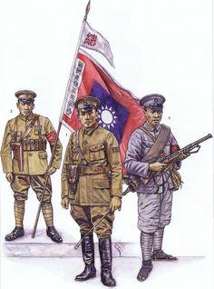 1926年至1928年国民革命军军服 / 1926-1928 Chinese National Revolutionary Army Uniforms