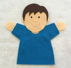 This is a PDF pattern download for you to make a felt Joy Boy Hand Puppet. Your…