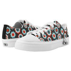 Graphic floral patterns Low-Top sneakers