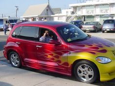Ghost flames pt cruiser - Google Search