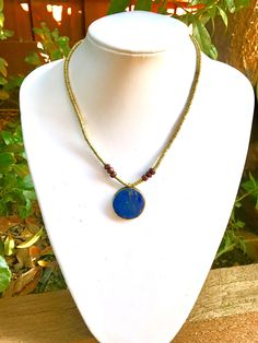 Excited to share the latest addition to my #etsy shop: Lapis lazuli tribal necklace, Afghan jewelry, gift for her, lapis necklace, pendant necklace, bohemian statement necklace, #jewellery #necklace #blue #birthday #giftforher #geometricnecklace #lapislazuli #tribalnecklace