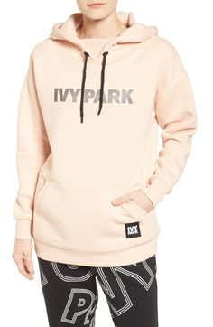 IVY PARK® Silicone Logo Hoodie available at #Nordstrom