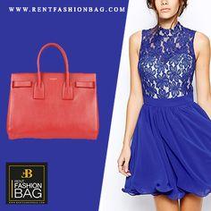 Essentia Style with Yves Saint Laurent Sac De Jour #available to #rent on www.rentfashionbag.com