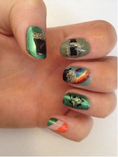design nails 2014 | Download St. Patrick's Day Nail Designs 2014