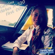 """With hard work dreams become a reality"" Meet Carolina; First Officer for Avianca Airlines on the A320"