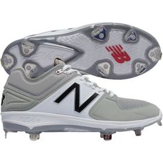 Image for New Balance Men's L3000v3 Low Metal Cleats from BaseballSavings.com Baseball Shoes, Baseball Stuff, Metal Cleats, Wrestling Shoes, New Balance Men