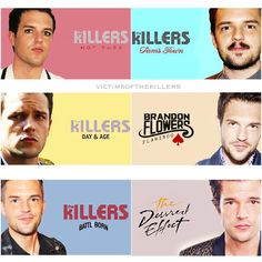 """The Killers on Instagram: """"These changes ain't changing me  ❤️ #brandonflowers #victimsofthekillers #thekillers"""""""
