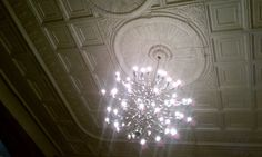 bar marco white tin ceiling