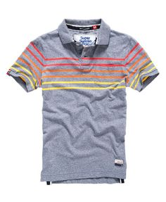 Superdry Bay Stripe Polo Shirt