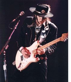 Stevie Ray Vaughan - no one inspires me to pickup my guitar more than SRV - no guitarist makes me feel more inadequate.