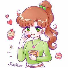 Sailor Jupiter, Sailor Moon Mars, Arte Sailor Moon, Sailor Moon Crystal, Sailor Moon Outfit, Makoto, Disney Aesthetic, Sailor Scouts, Moon Art