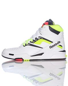 reebok high tops mens. reebok men\u0027s high top basketball sneaker front lace closure shaped air pump on padded tongue of shoe cushioned sole for ultimate comfort reebok tops mens h