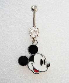 MICKEY MOUSE EARS DISNEY Navel Belly Button Ring BODY JEWELRY Piercing Minnie C5 Belly Button Piercing Rings, Cute Belly Rings, Bellybutton Piercings, Body Jewelry Piercing, Belly Button Jewelry, Cute Piercings, Body Jewellery, Body Piercings, Tongue Piercings