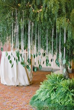 Today we'd like to share some ideas for spring wedding seating charts and escort cards and ways to style such a chart for spring. Greenery and florals are great sources of inspiration for them. Green Wedding Decorations, Wedding Centerpieces, Wedding Table, Tree Decorations, Table Centerpieces, Summer Wedding, Wedding Day, Spring Weddings, Diy Wedding