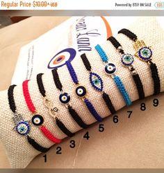 A personal favourite from my Etsy shop https://www.etsy.com/listing/504854932/promo-evil-eye-bracelet-string-evil-eye Evil eye bracelet, string evil eye bracelet, macrame evil eye bracelet, evil eye hamsa charm bracelet, zirconia charm bracelet, adjustable bracelet This evil eye bracelet is totally handmade.  #evileye #evileyes #hamsahand #infinity #redstringbracelet #hamsabracelet #evileyebracelet #hamsacharm