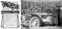 """The winning Thomas Flyer was a production car in every respect and """"It shows the American..."""