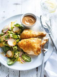 Recette de Ricardo de poulet au four à la sauce aux arachides