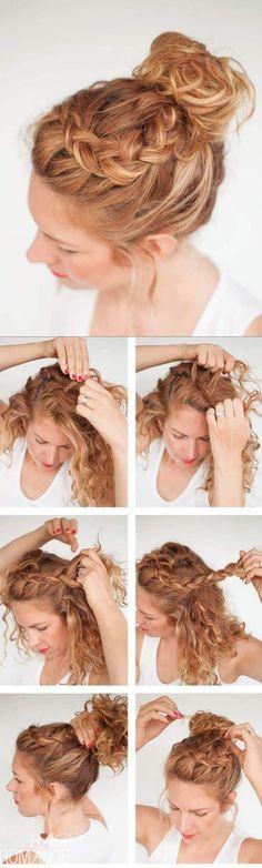 Si crees que la mejor opción para tu pelo rizado es alisarlo, pues mira antes estos ♡♥ peinados pelo rizado ♡♥ que seguramente te harán cambiar de parecer