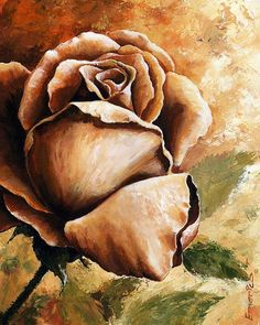 Rose by Emerico Imre Toth - Rose Painting - Rose Fine Art Prints and Posters for Sale