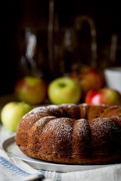This gluten-free applesauce bundt snack cake is one of those recipes I have made over and over again. It is made with brown rice flour (that means it's whole grain) and sweetened with honey. Gluten Free Deserts, Gluten Free Recipes, Healthy Snacks For Kids, Healthy Foods, Healthy Eating, Healty Dinner, Those Recipe, Food Categories, Apple Recipes