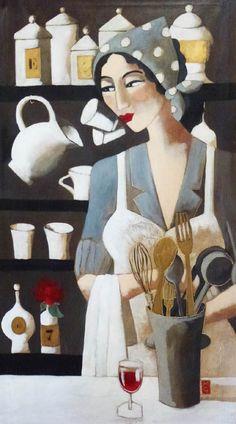ARTACASA Gallery Artists and Artworks Marie Godest