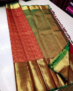 Mysore Silk Saree, Indian Silk Sarees, Pure Silk Sarees, Simple Saree Designs, Blouse Designs, Saree Tassels Designs, Designer Sarees Wedding, Bridal Silk Saree, Saree Blouse Patterns